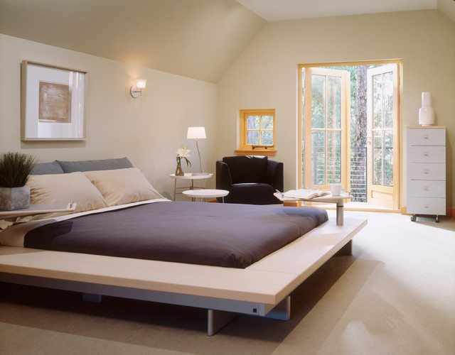 Modern tudor contemporary bedroom minneapolis by for Tudor style bedroom