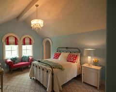 Modern Twist on Tradition transitional bedroom