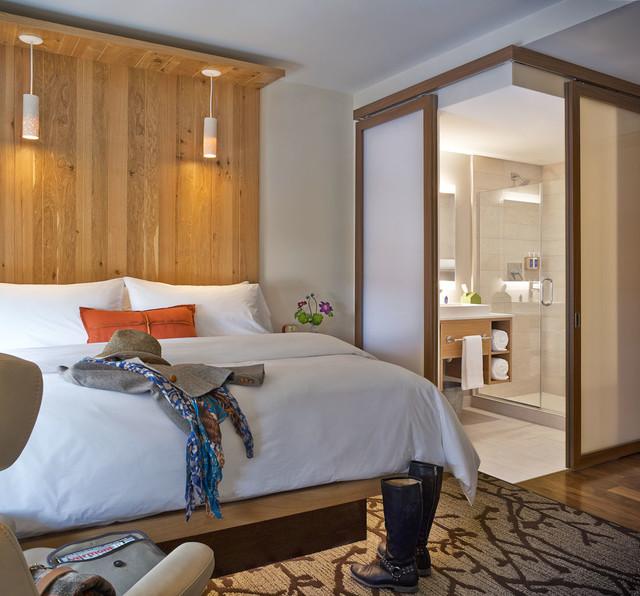 Modern vermont contemporary bedroom burlington by - Houzz dormitorios ...