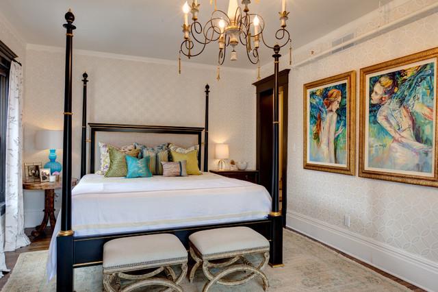 Modern Victorian Interpretation Victorian Bedroom