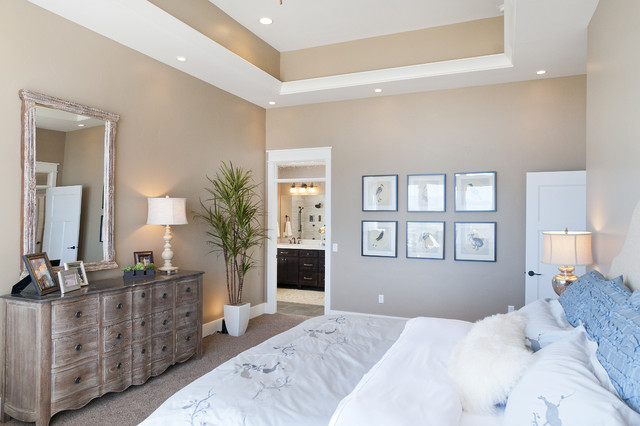 Modified Telluride by Candlelight Homes craftsman-bedroom