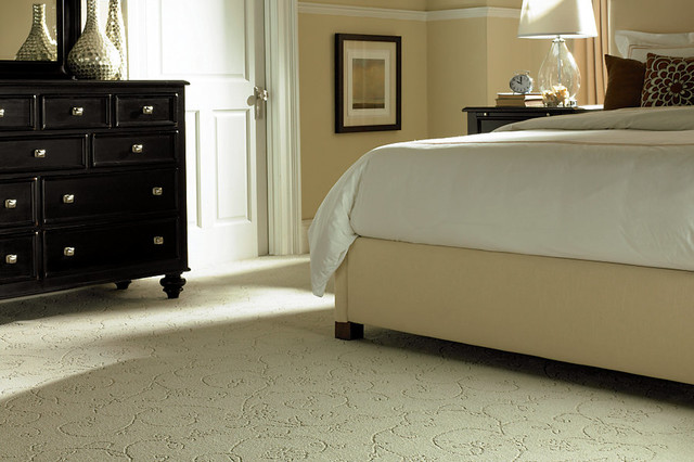Traditional Bedroom Carpet : Mohawk traditional bedroom oklahoma city by brewer