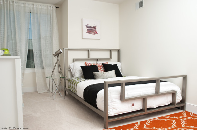 Monastery Hill Staging contemporary-bedroom