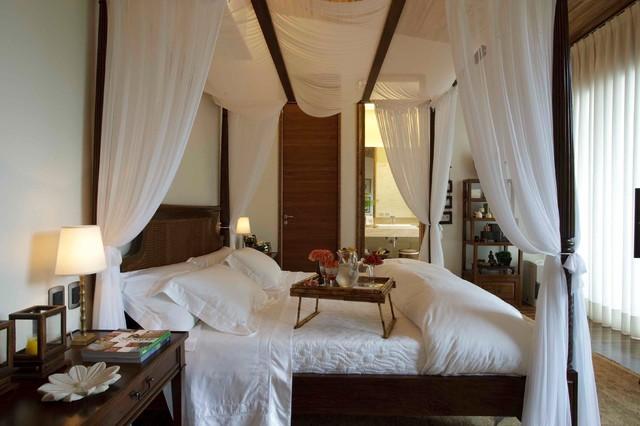 Montain Home mediterranean-bedroom