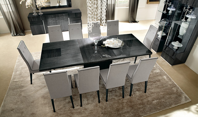 Montecarlo Dining Table And Chairs By Alf Modern Bedroom Boston By Italian Interiors Houzz Uk