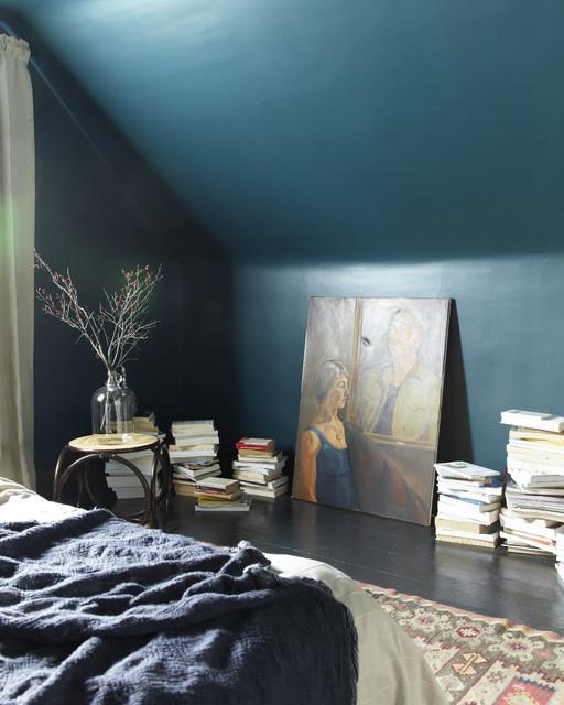 Schlafzimmer Petrol petrol als farbe die schönsten beispiele