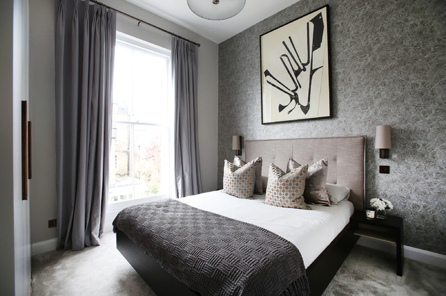 Moore House Contemporary Bedroom London By