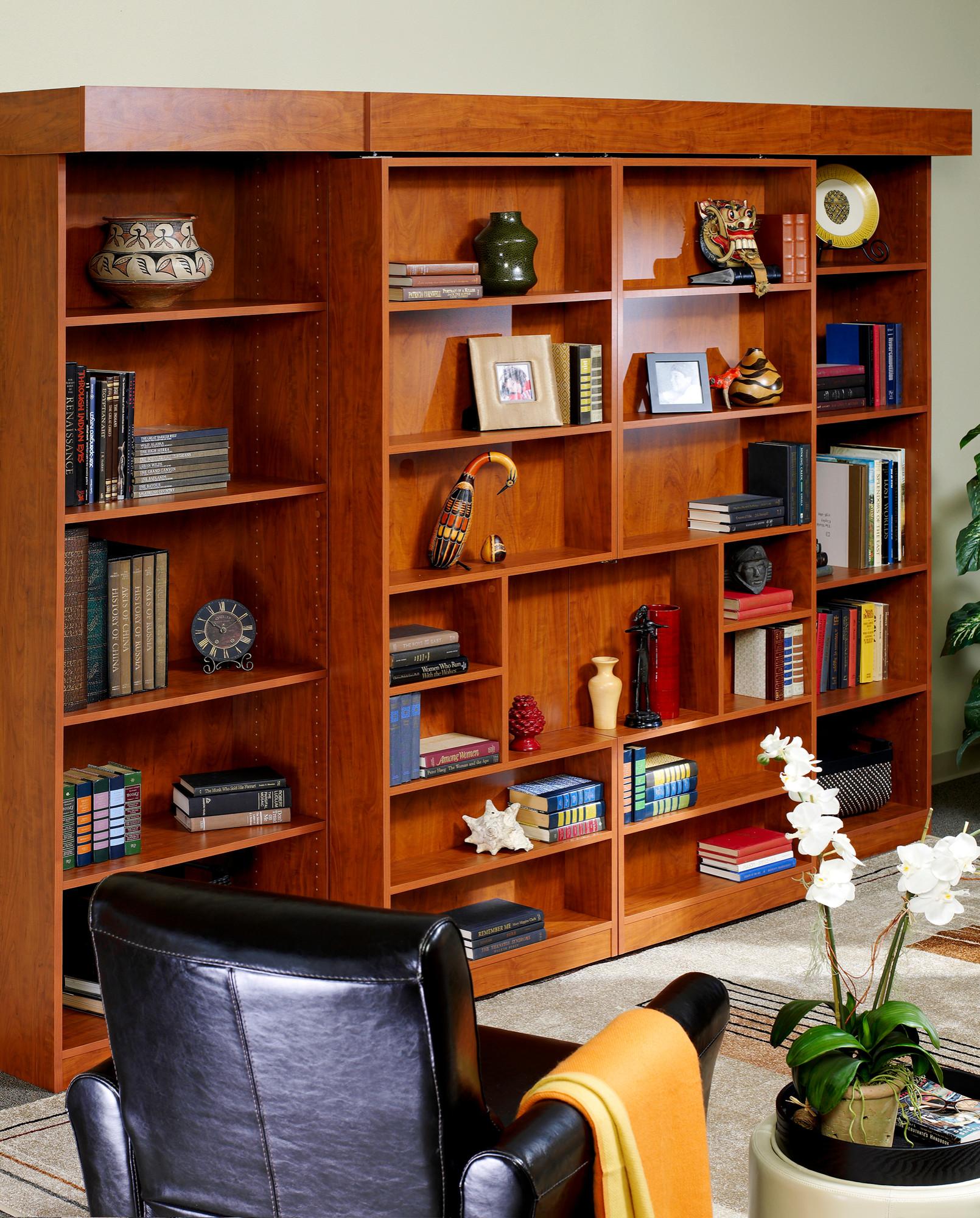 Bookshelf Murphy Bed Houzz