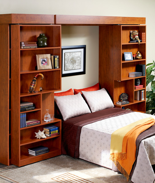 More Space Place - Murphy Bed eclectic-bedroom