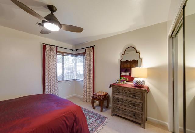 Moroccan-Inspired Bedroom - Mediterranean - Bedroom - San ...
