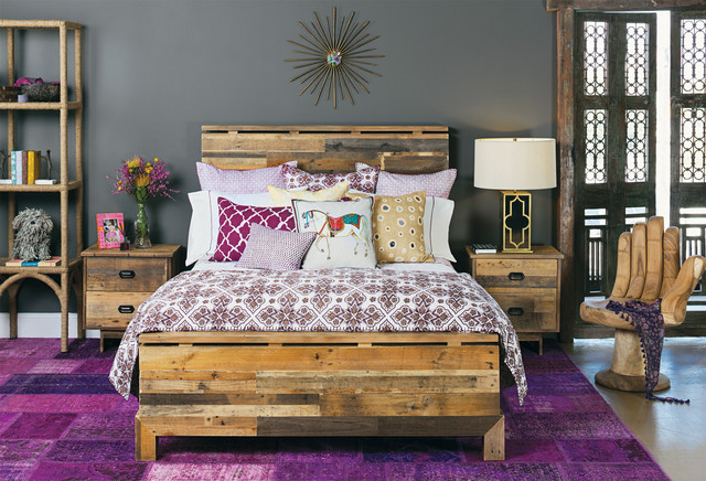 Moroccan Modern - Tioga Bed - Contemporary - Bedroom ...