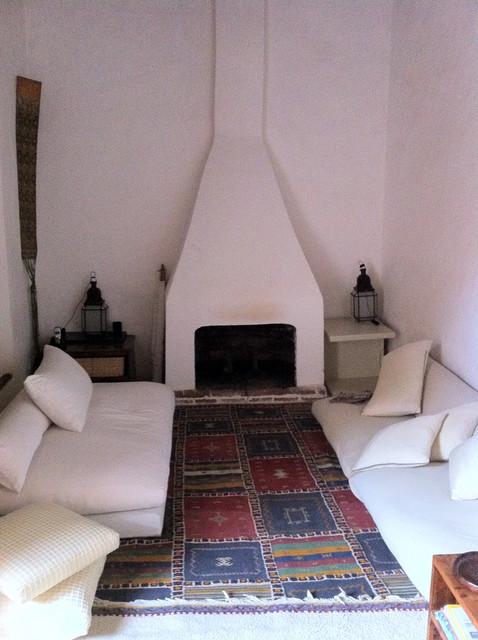 Moroccan Riad Bedroom mediterranean-bedroom