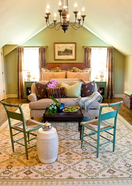 Morrison Viola Bedroom-Guest House traditional-bedroom