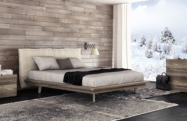 New york nyc bedroom modern design huppe modern for Modern furniture nyc