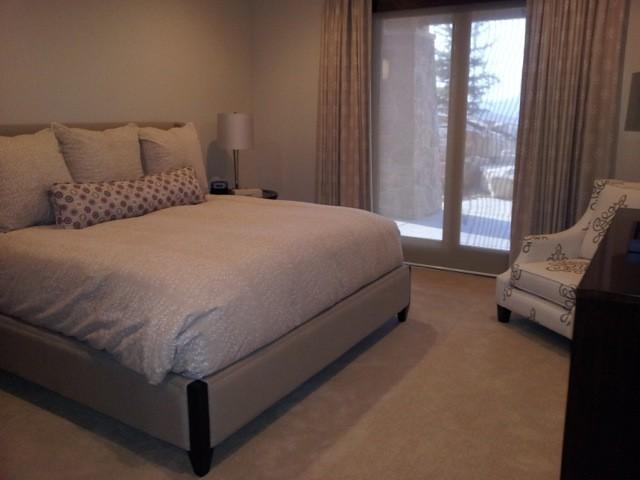 Mountain Contemporary contemporary-bedroom