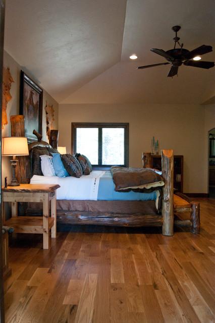 Mountain Lodge rustic-bedroom