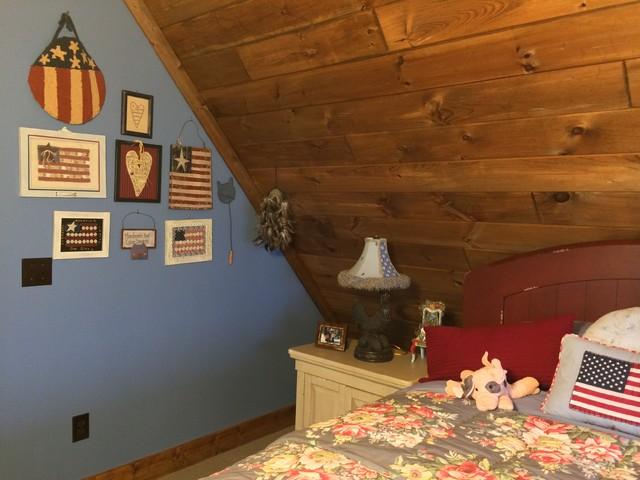 Mountain Retreat rustic-bedroom