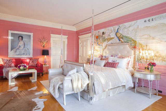 Mrs. Doheny's Bedroom eclectic-bedroom