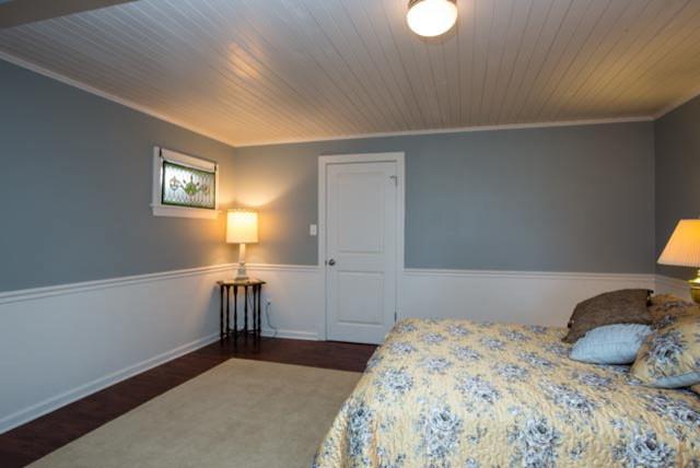 Mt crawford farmhouse basement remodel farmhouse for Farmhouse basement