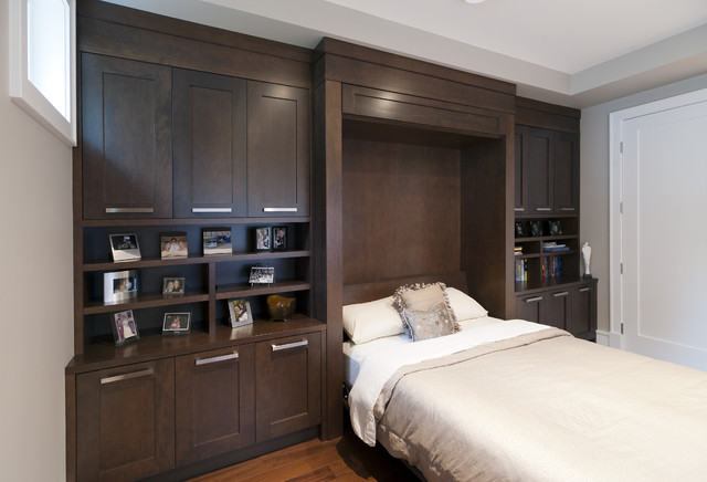Murphy Bed transitional-bedroom
