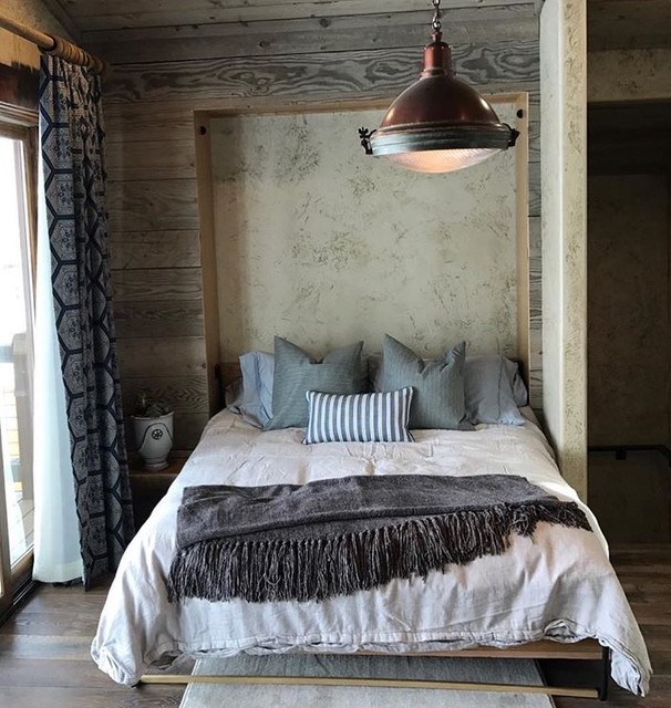 Murphy Beds Rustic Bedroom Salt Lake City By Project Sunday