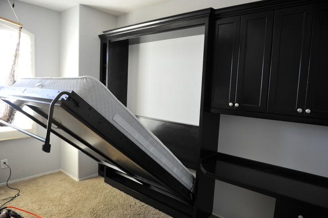 Murphy Wallbed and small home office contemporary bedroom. Murphy Wallbed and small home office   Contemporary   Bedroom