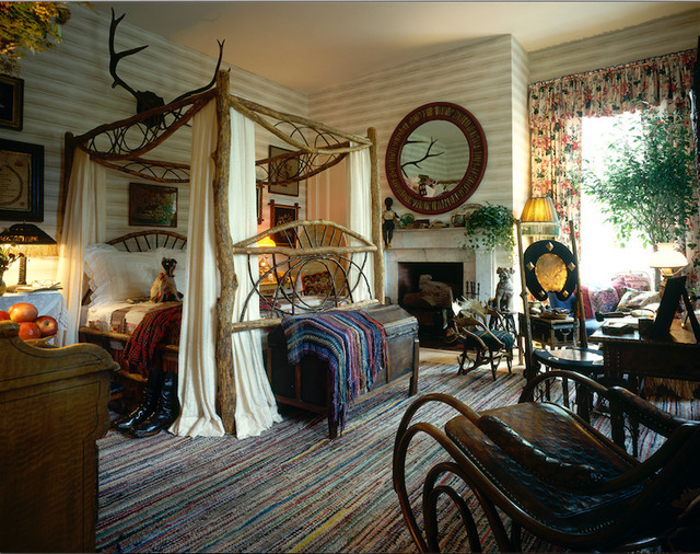 My Designs rustic-bedroom