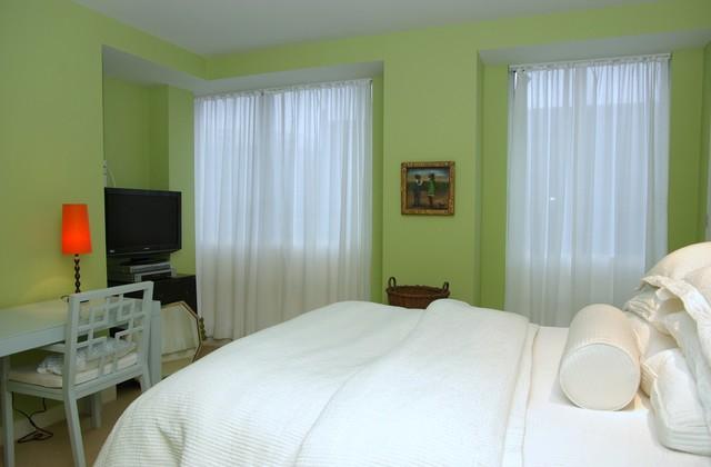 My downtown condo contemporary-bedroom