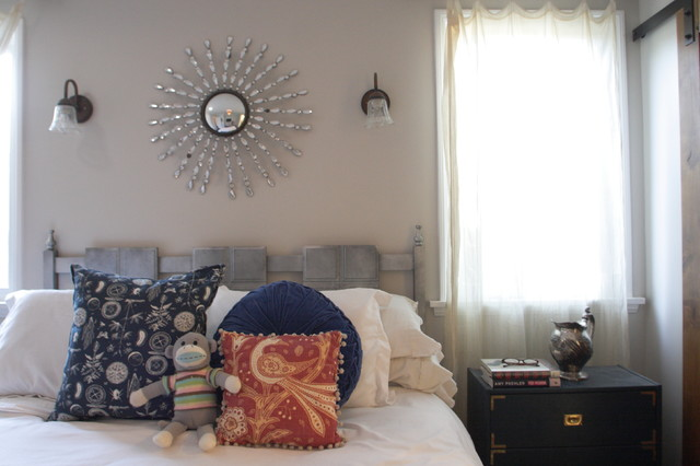 my houzz 1940s fixer upper grows up with the family traditional bedroom los angeles by. Black Bedroom Furniture Sets. Home Design Ideas