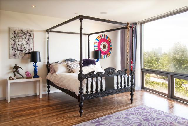 My Houzz: New York City contemporary-bedroom