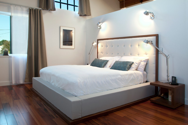My Houzz: A Big, Empty Box Becomes a Mod Live-Work Space contemporary-bedroom