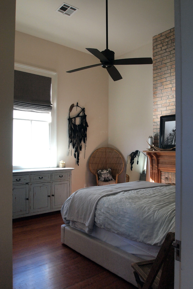 Eclectic bedroom photo in New Orleans