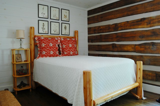 My Houzz: A Rustic, Stress-free Mountain Home in Mentone, Alabama rustic-bedroom