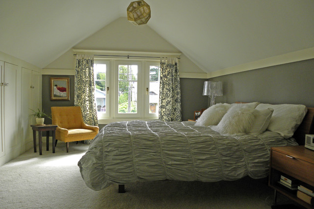 Seattle, WA: Lisa Hebner craftsman-bedroom