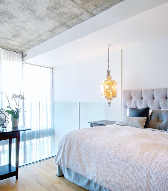 Balcony Off Master Bedroom Small Bedroom Lighting Bedroom Design And Furniture Bedroom Wardrobe Design Ideas: My Houzz: Calm, Cool And Collected In Downtown Toronto