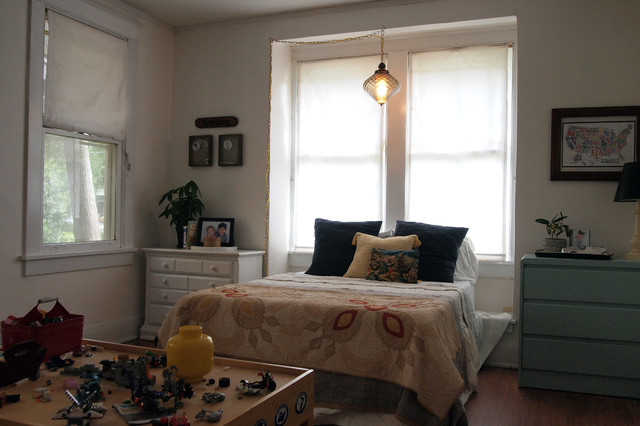 My houzz casual thoughtful design for a 1920s bungalow for 1920s bedroom ideas