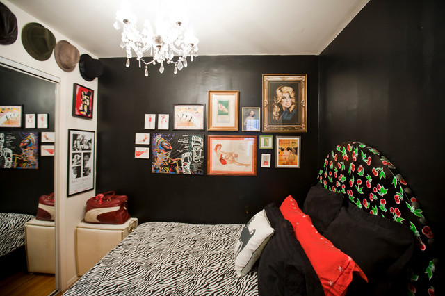 Amanda Barlow eclectic-bedroom