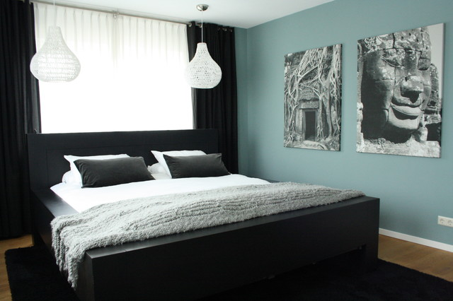 My Houzz: Country Chic family home in the Netherlands contemporary-bedroom