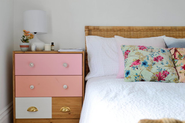 My Houzz: Creative Flair Brightens a San Francisco Apartment eclectic-bedroom