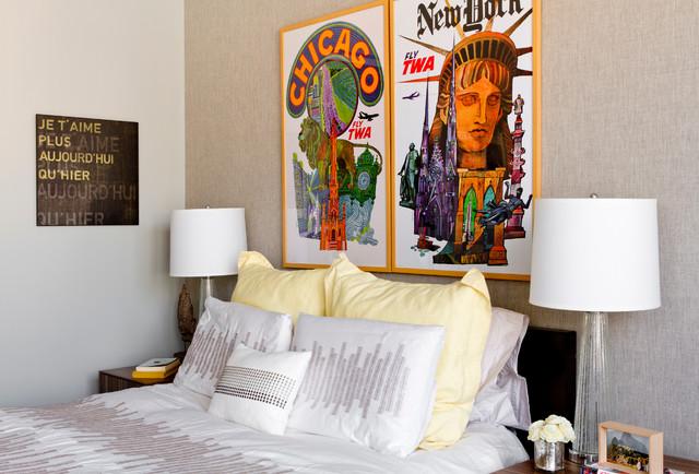 My Houzz: Deby and Vivek eclectic-bedroom