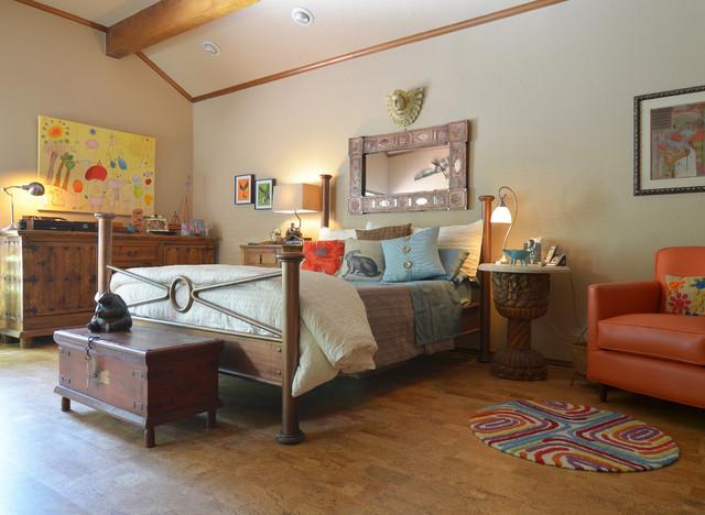 Cork Floor Houzz - Cork flooring bedroom
