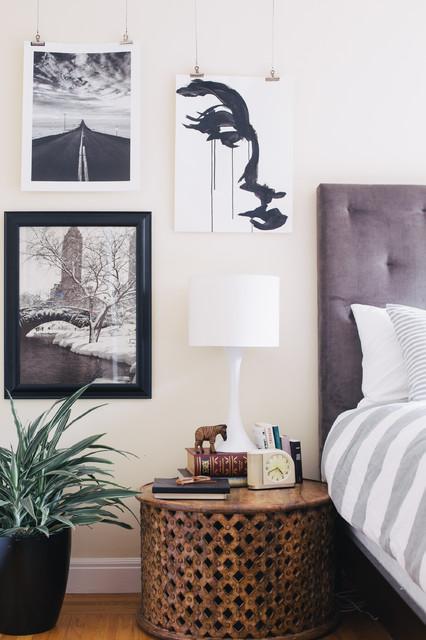My houzz family home stays true to style ecl ctico - Houzz dormitorios ...