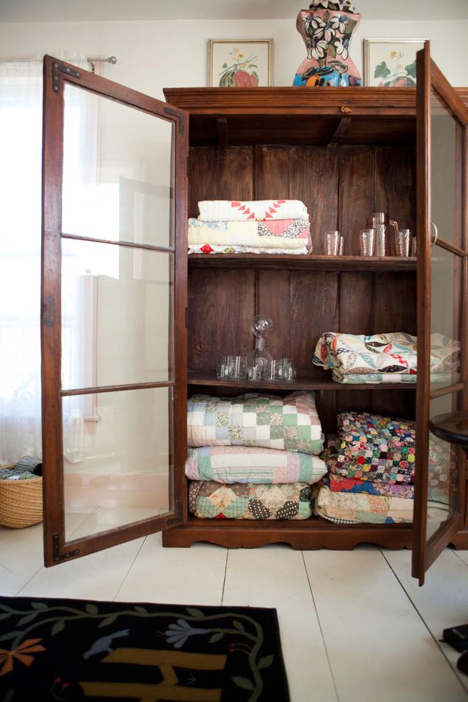 Bedroom - farmhouse bedroom idea in Burlington
