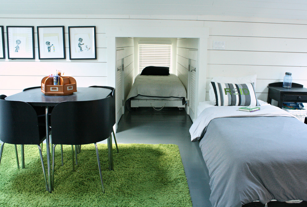 My Houzz Home Full Of Boys Achieves Order And Inspiration Transitional Bedroom Tampa By Mina Brinkey