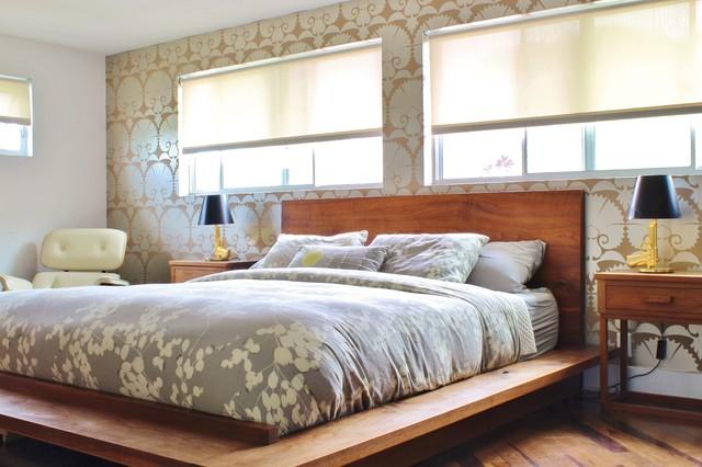 My houzz midcentury in del mar retro dormitorio los - Houzz dormitorios ...