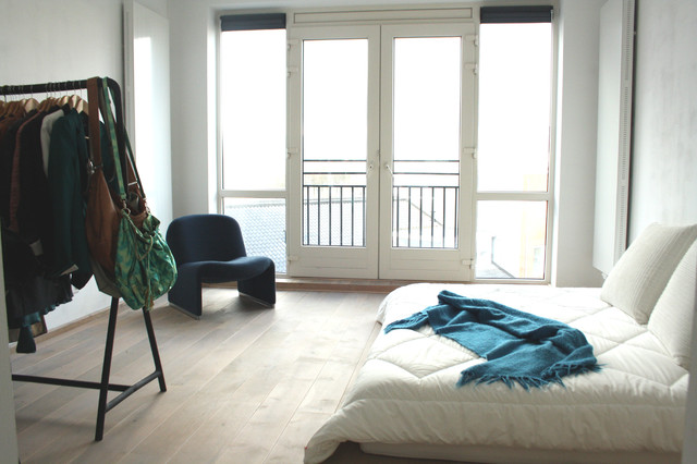 My Houzz Minimalist Living In Rotterdam Contemporary Bedroom