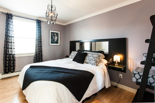 My Houzz: Open Concept Apartment Above Retail In Downtown St. John's contemporary-bedroom