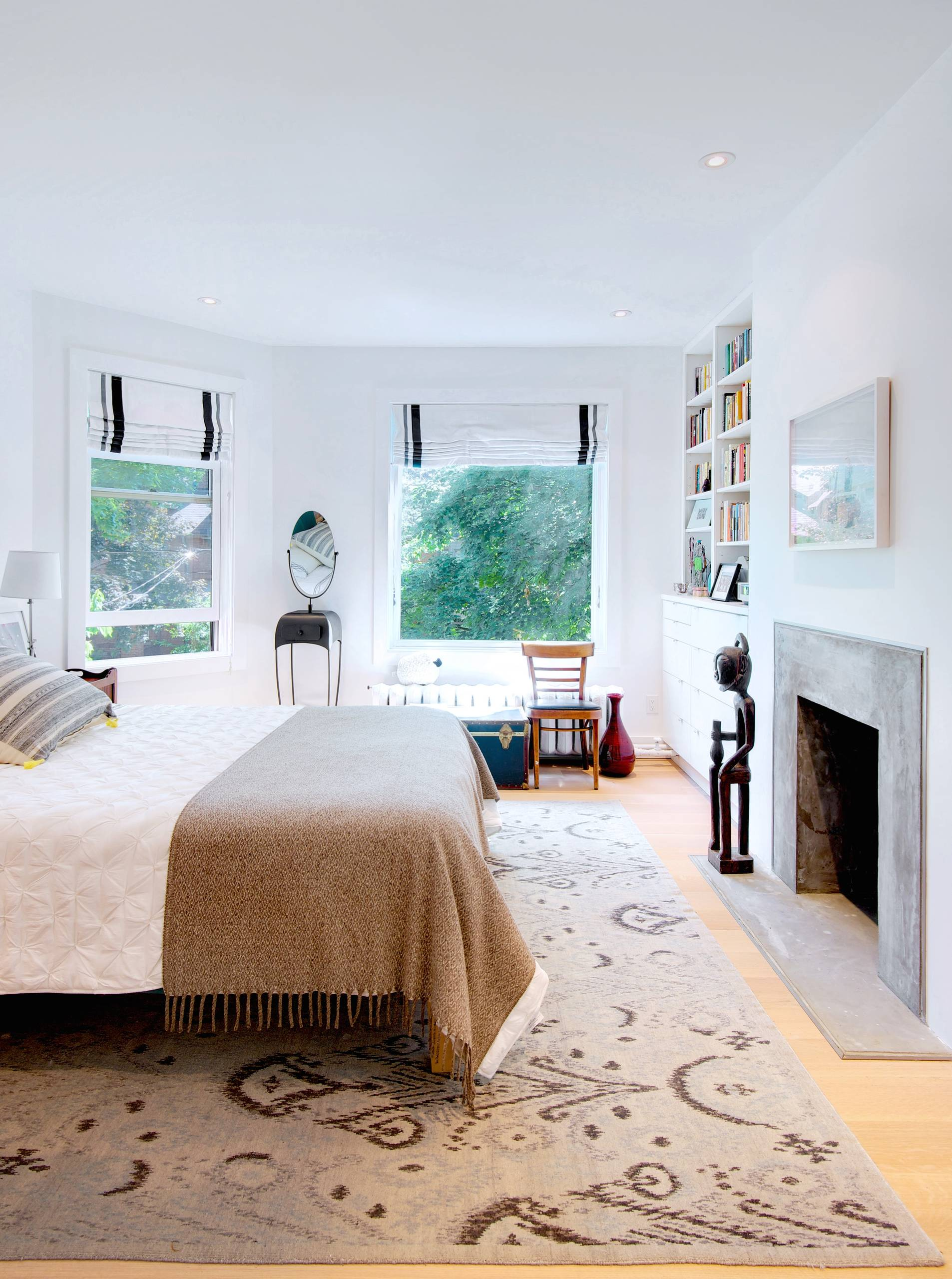 Built In Bedroom Storage  Houzz