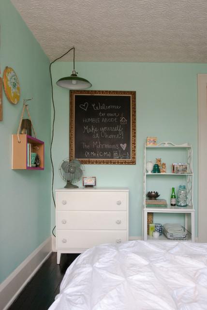 Chelsea + Kiel: Columbus, Ohio eclectic-bedroom