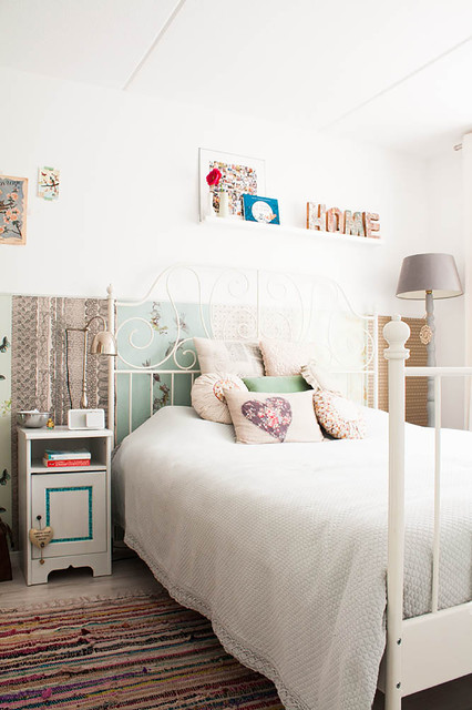 My Houzz: Revamped Flea Market Finds add personality to a Dutch home eclectic-bedroom